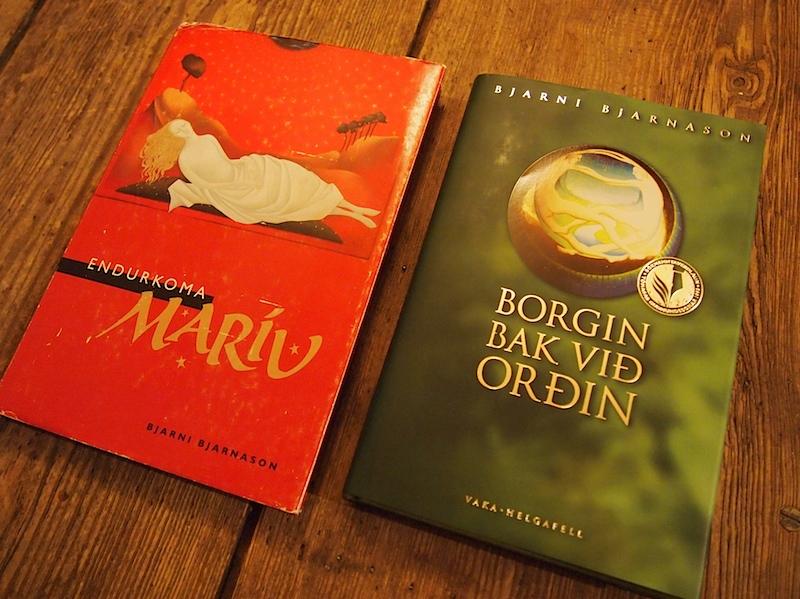 """""""Endurkoma Maríu"""" (1996) und """"Borgin bak við orðin"""" (1998) von Bjarni Bjarnason"""