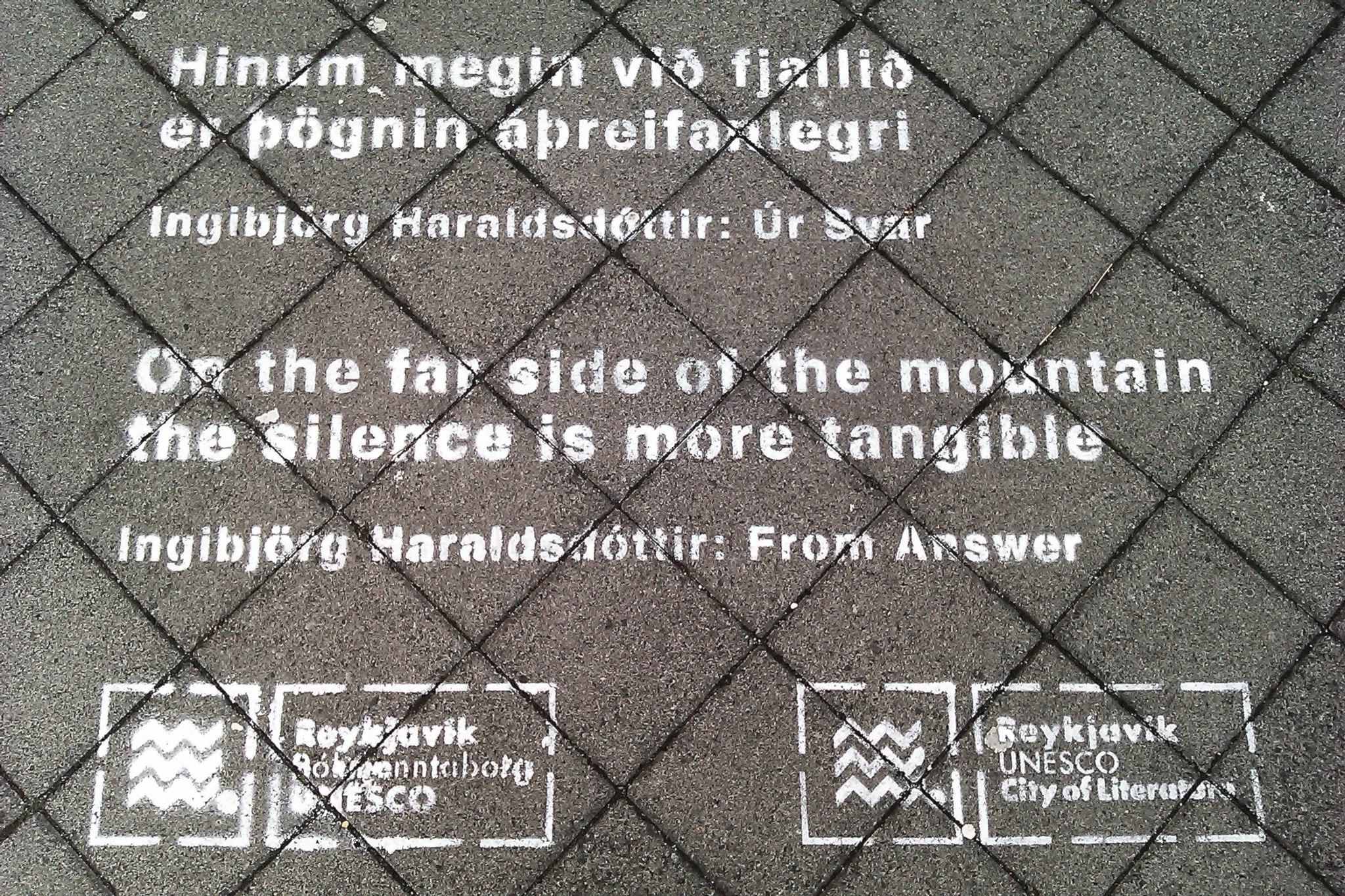 © Lydia Herms | Okt. 2012, City of Literature, Reykjavík
