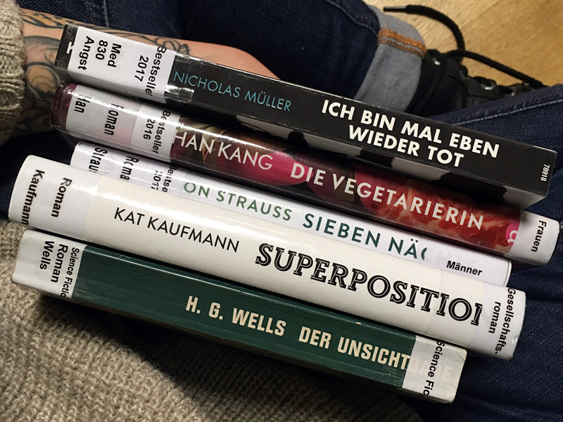 Science-Fiction, Gesellschaft, Männer, Frauen, Angst – Literaturwelten | Foto: Lydia Herms